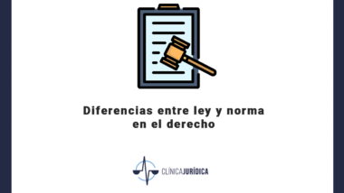 Diferencias entre ley y norma en el derecho