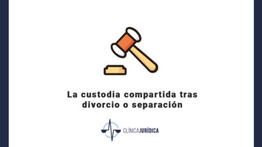 La custodia compartida tras divorcio o separación