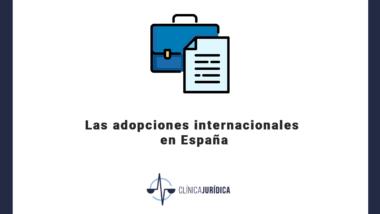 Las adopciones internacionales en España