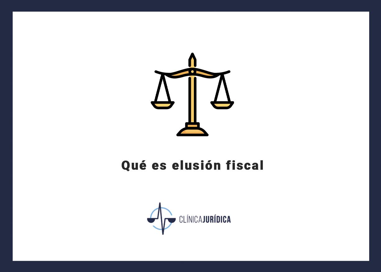 Qué es elusión fiscal