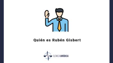 Quién es Rubén Gisbert