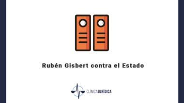Rubén Gisbert contra el Estado