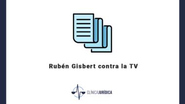 Rubén Gisbert contra la TV